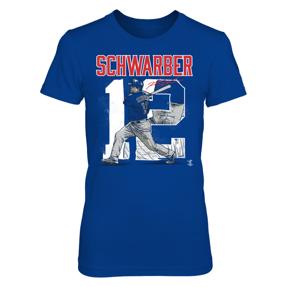Player Number - Kyle Schwarber Front picture