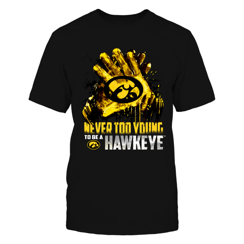 Iowa Hawkeyes - Never Too Young Front picture
