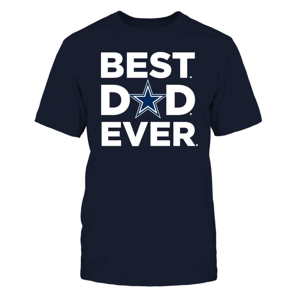 Best Dad Ever - Dallas Cowboys Front picture