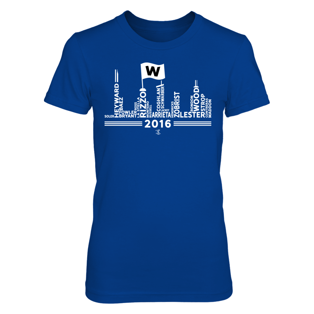 Fly The W Skyline - Anthony Rizzo Front picture