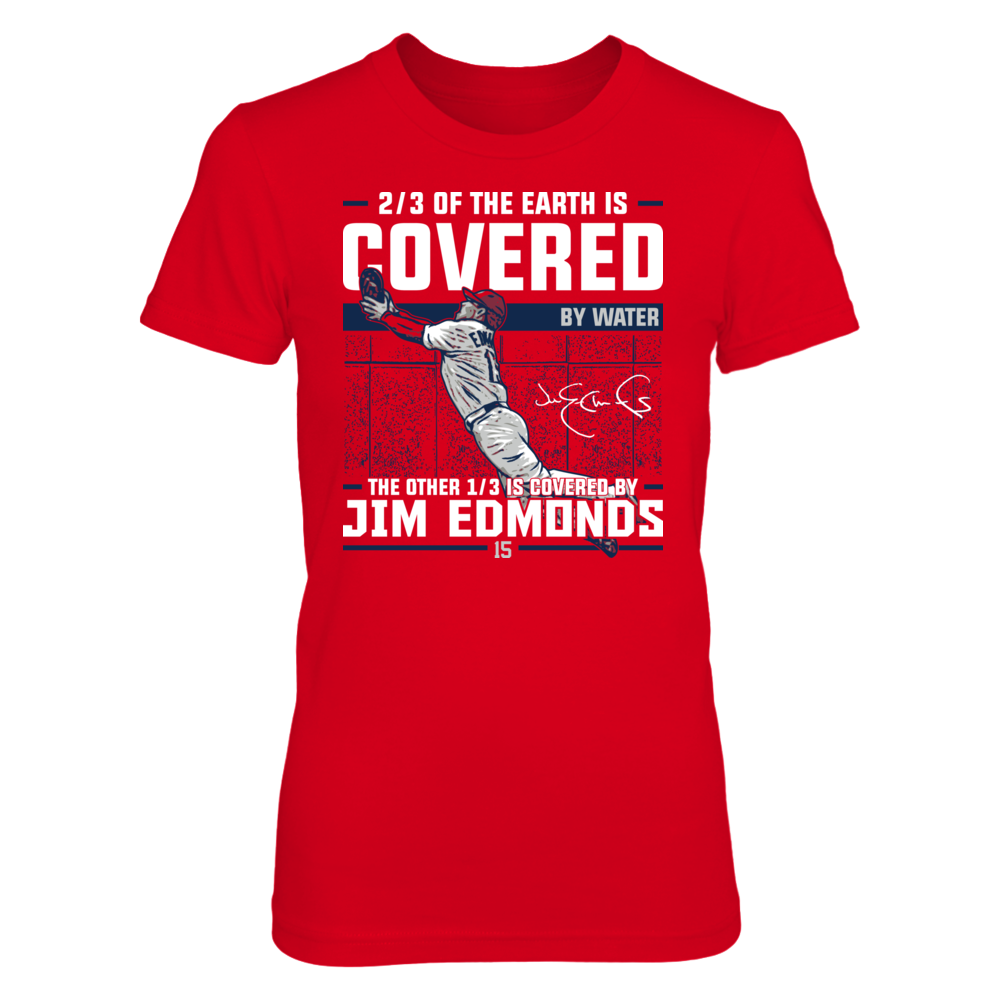 Jim Edmonds - Covered By Front picture