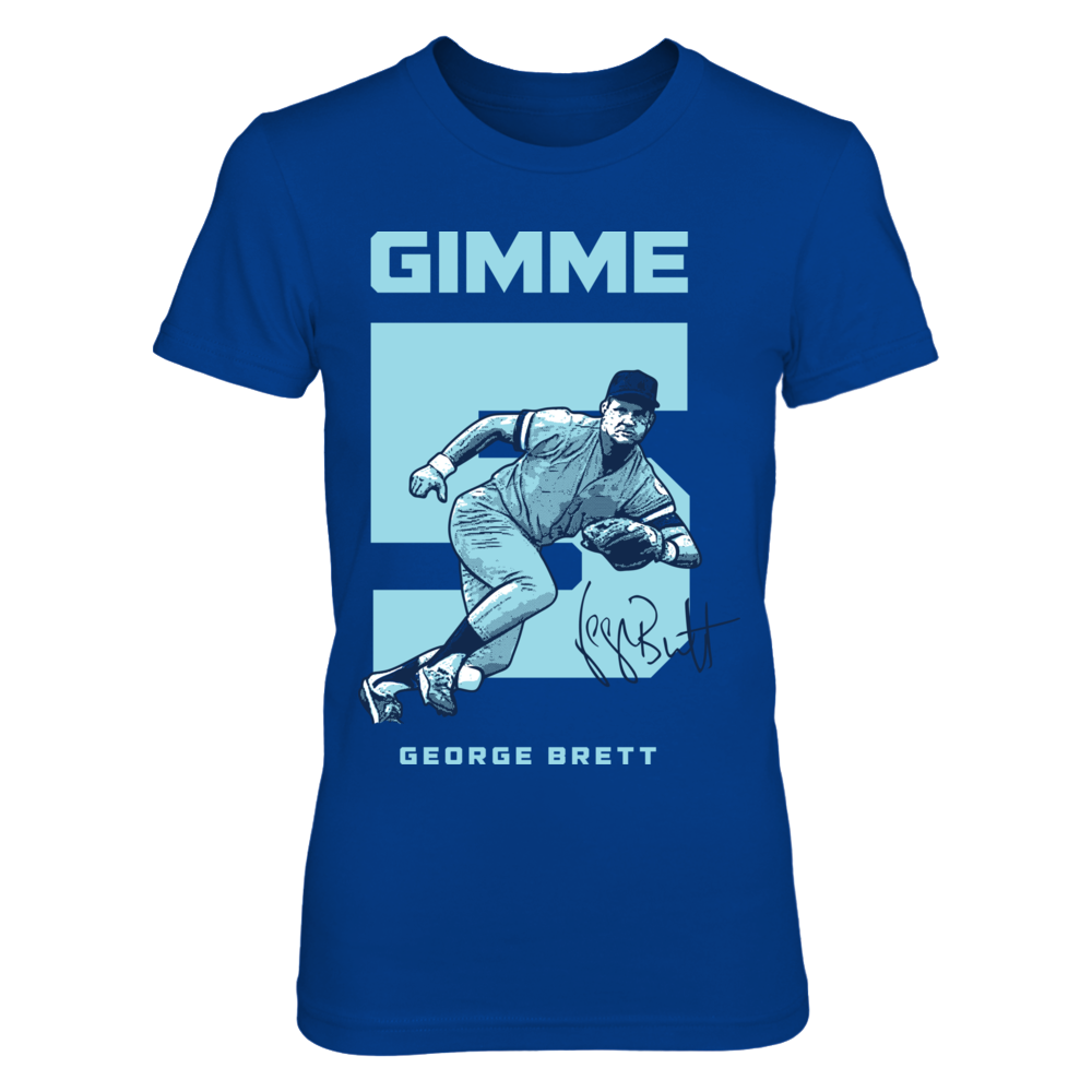 George Brett - Gimme 5 Front picture