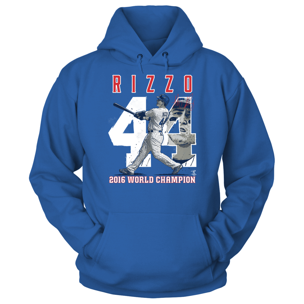 Player Number (2016 World Champion)  - Anthony Rizzo Front picture