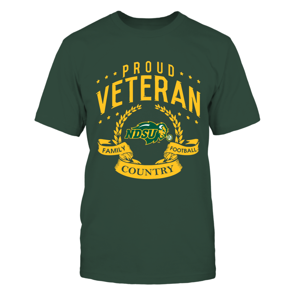 North Dakota State Bison - Proud Veteran Front picture