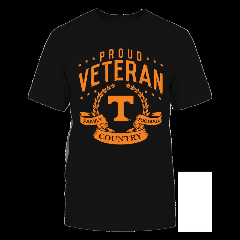 Tennessee Volunteers - Proud Veteran Front picture