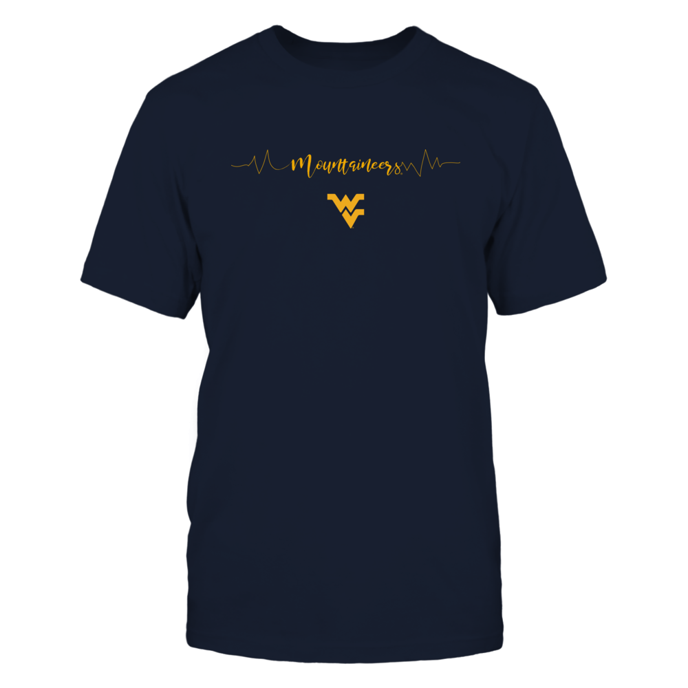 West Virginia Mountaineers - Heartbeat Front picture