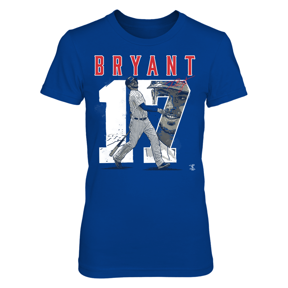 Player Number - Kris Bryant Front picture