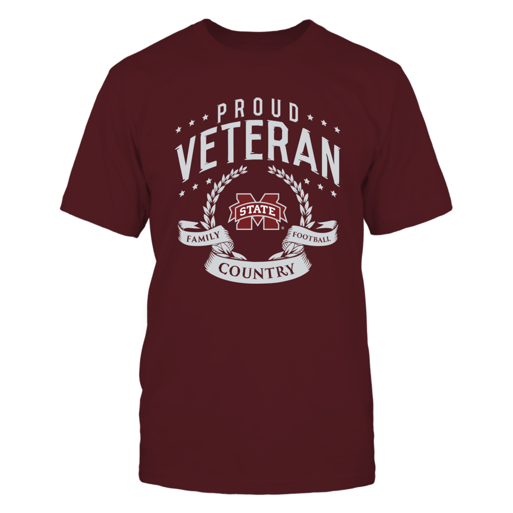 Proud Veteran Mississippi State Front picture