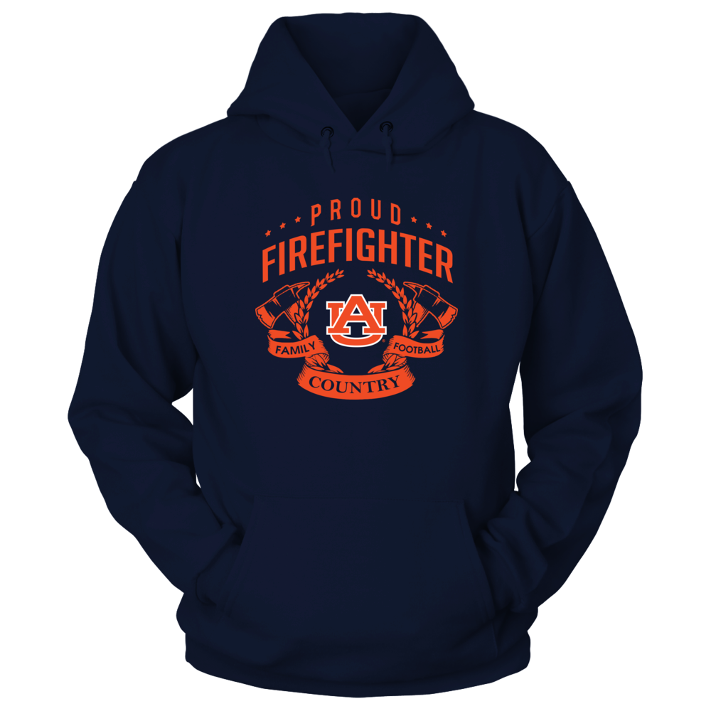 Auburn Tigers - Proud Firefighter Front picture