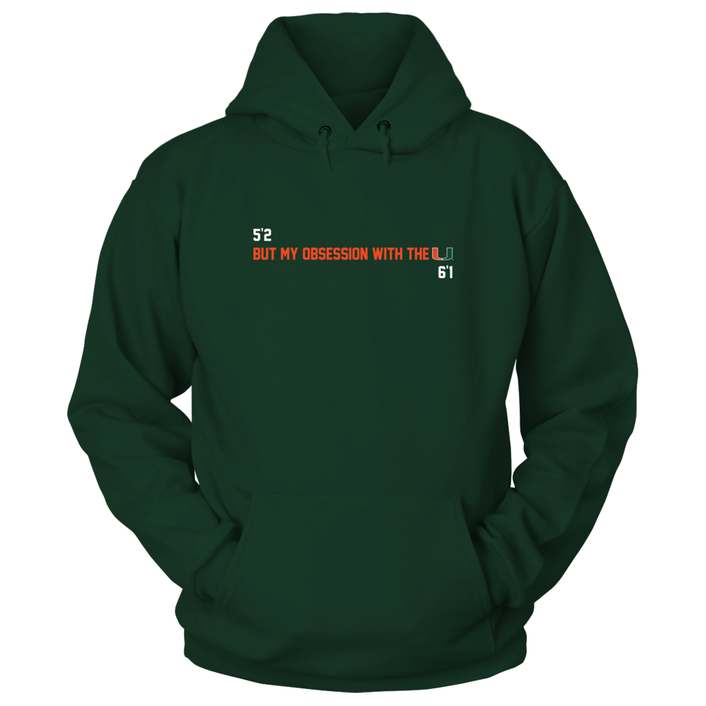 Miami Hurricanes - 5'2 but Front picture