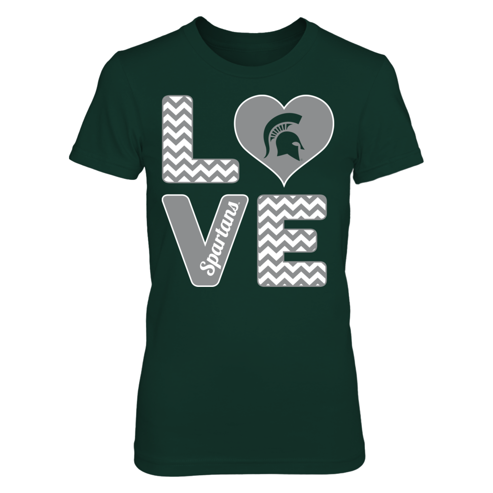 Stacked Love - Michigan State Spartans Front picture
