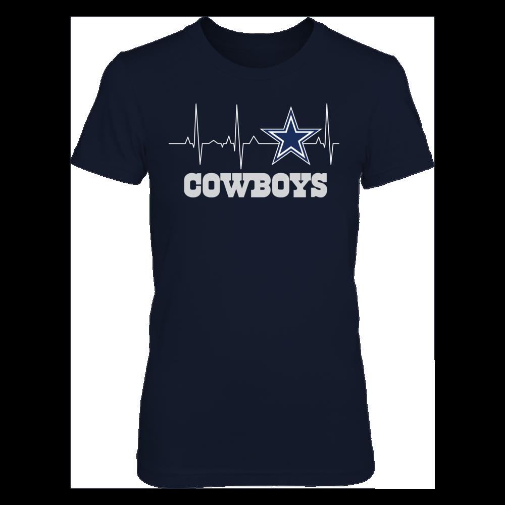 Dallas Cowboys - My Heart Beats EKG Front picture