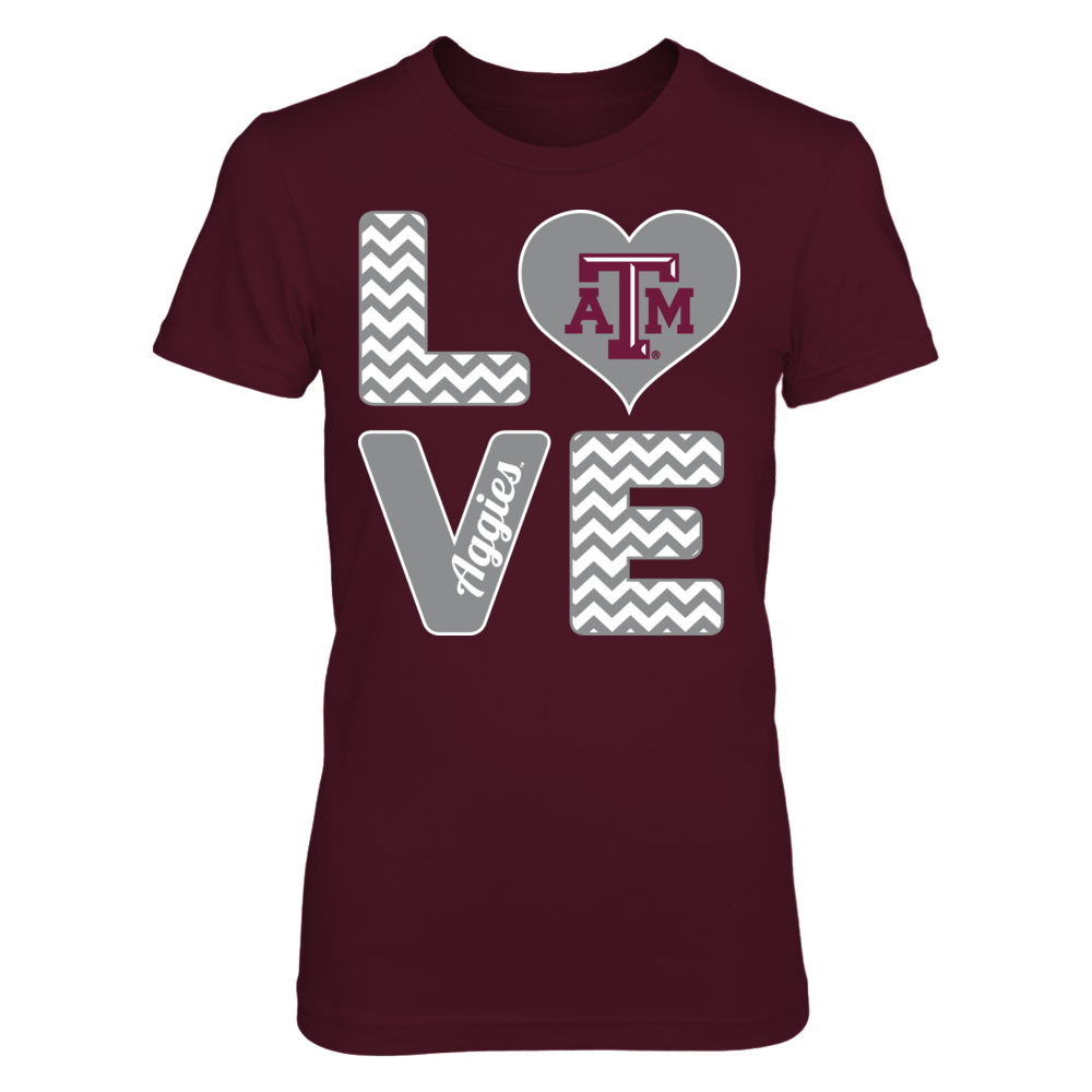 Stacked Love - Texas A&M Aggies Front picture