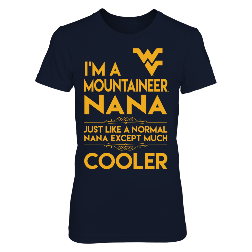 Normal Cooler Nana - West Virginia Mountaineers Front picture