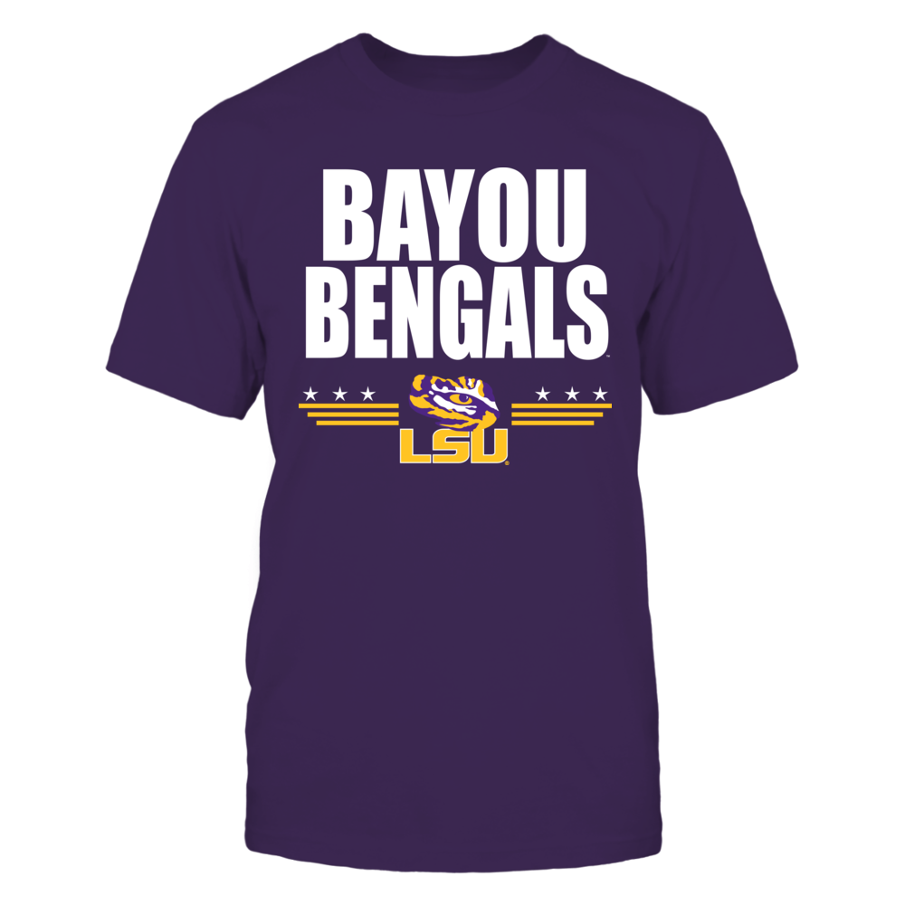 Bayou Bengals Front picture