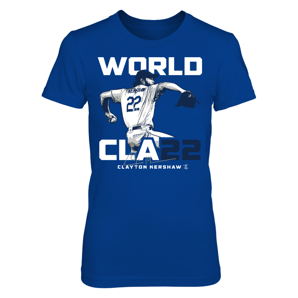 WORLD CLA22 - World Class Clayton Kershaw Front picture