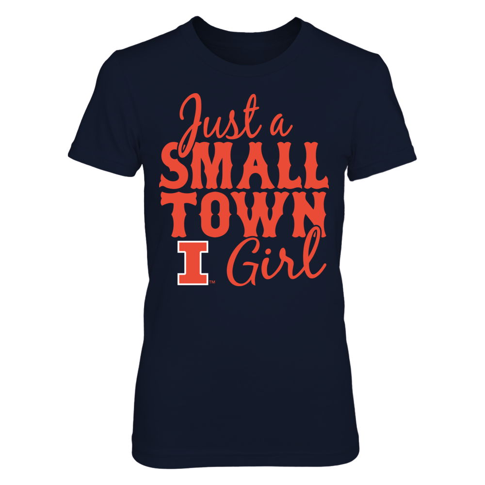 Small Town Girl - Illinois Illini Front picture