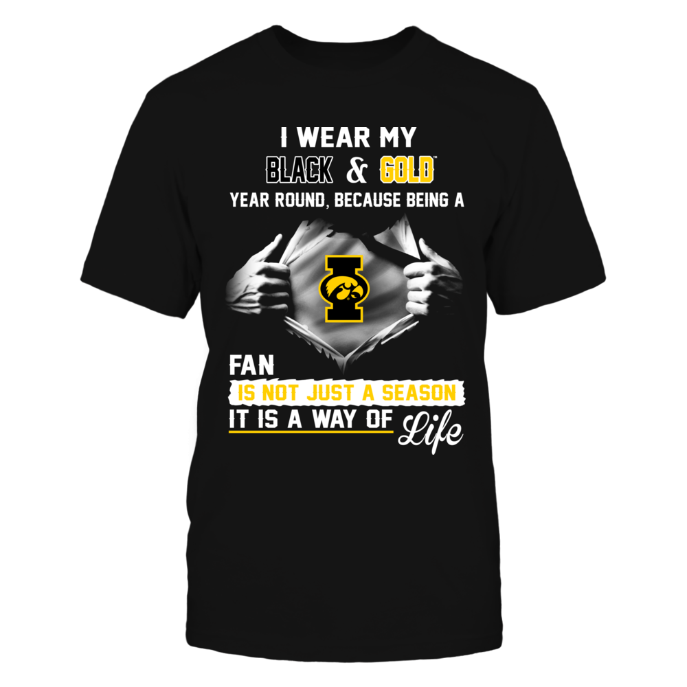 Iowa Hawkeyes Is A Way Of Life Front picture