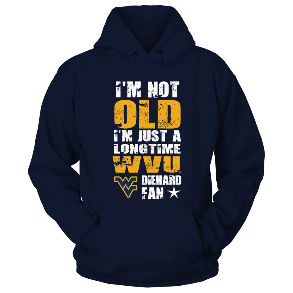 West Virginia Mountaineers - I'm Not Old Front picture