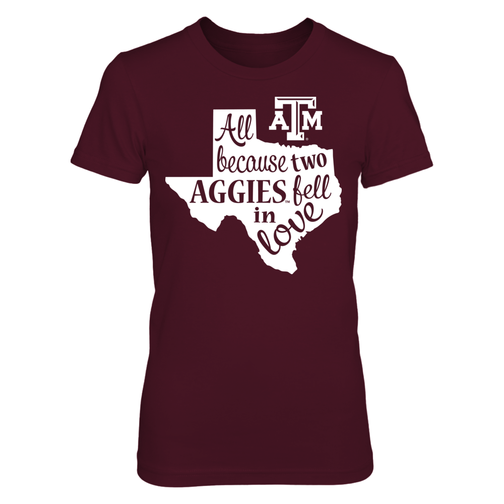 Texas A&M Aggies - Two Fell In Love Front picture