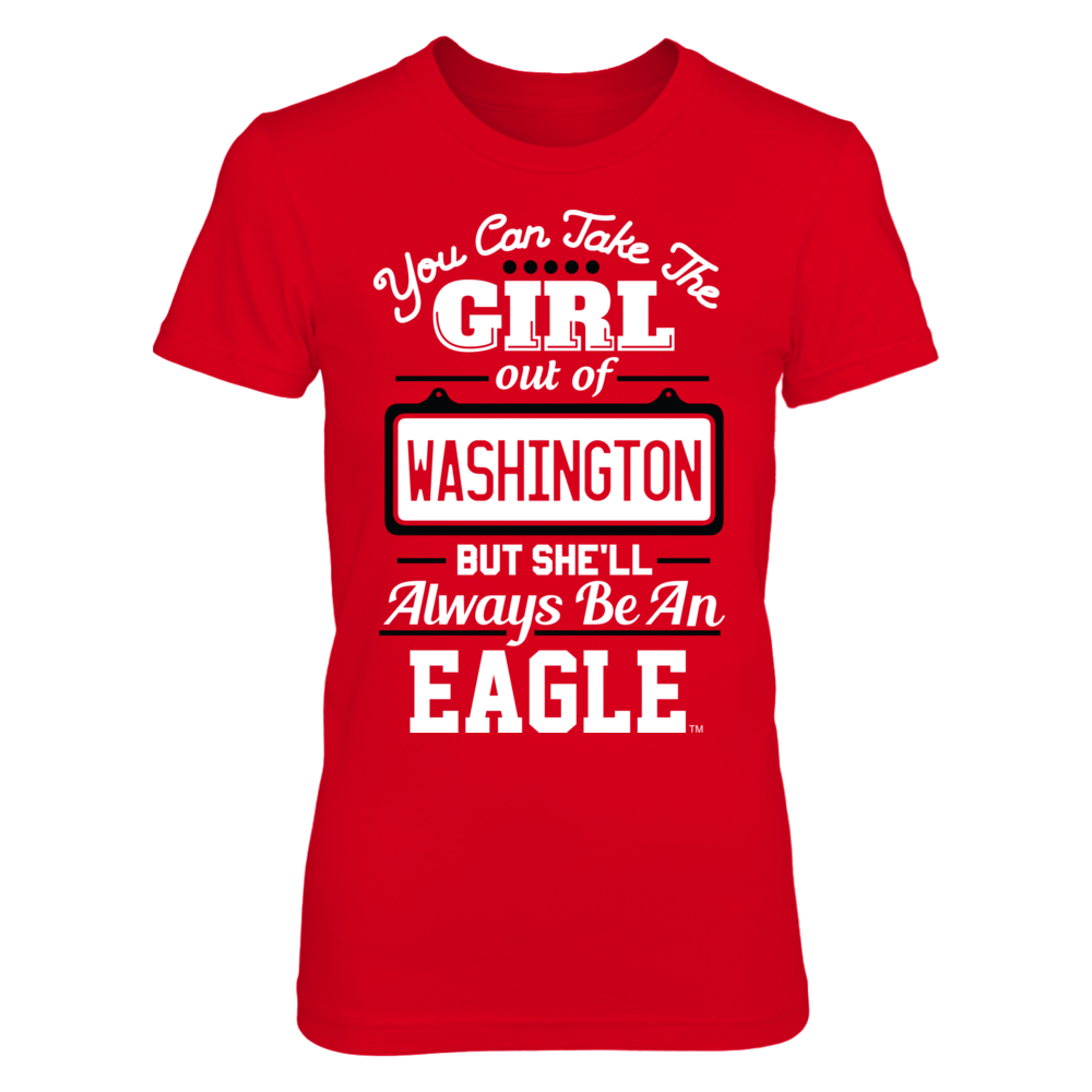 Take The Girl Out But She'll Always Be - Eastern Washington Eagles Front picture