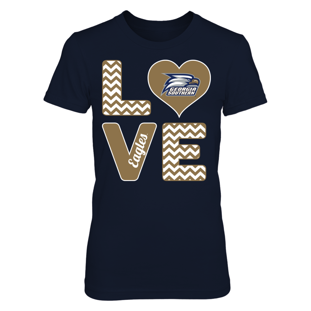 Stacked Love - Georgia Southern Eagles Front picture