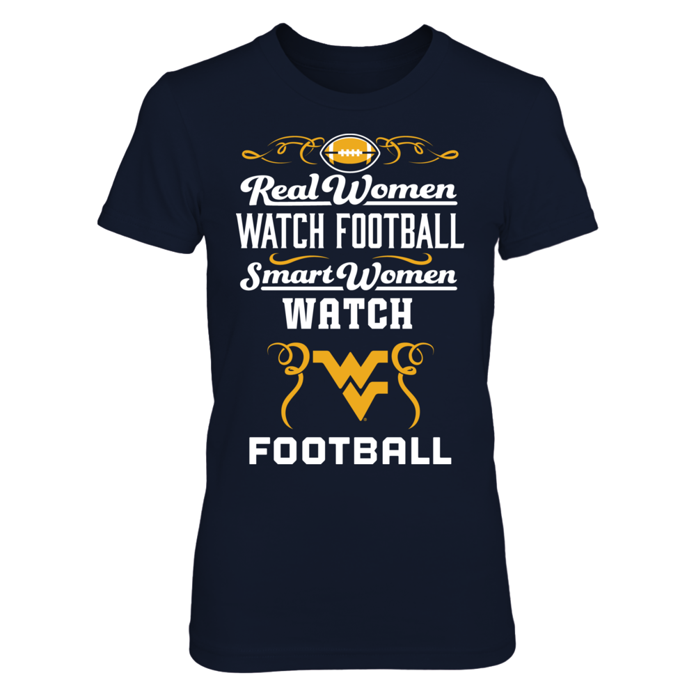 Real Women Watch Football - West Virginia Mountaineers Front picture