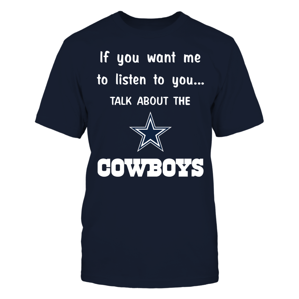 Talk About Cowboys If You Want Me To Listen To You Front picture