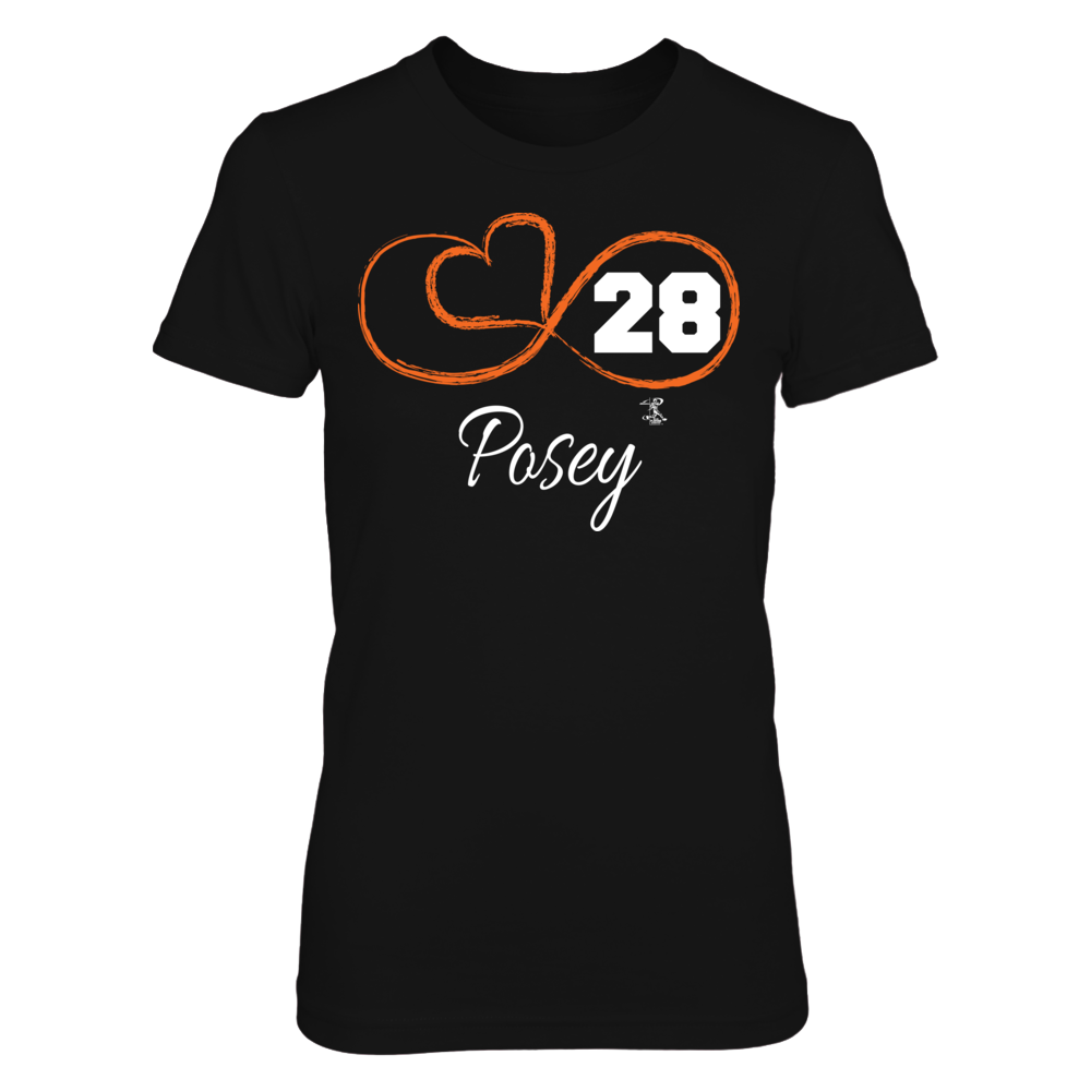 Infinite Heart - Buster Posey Front picture