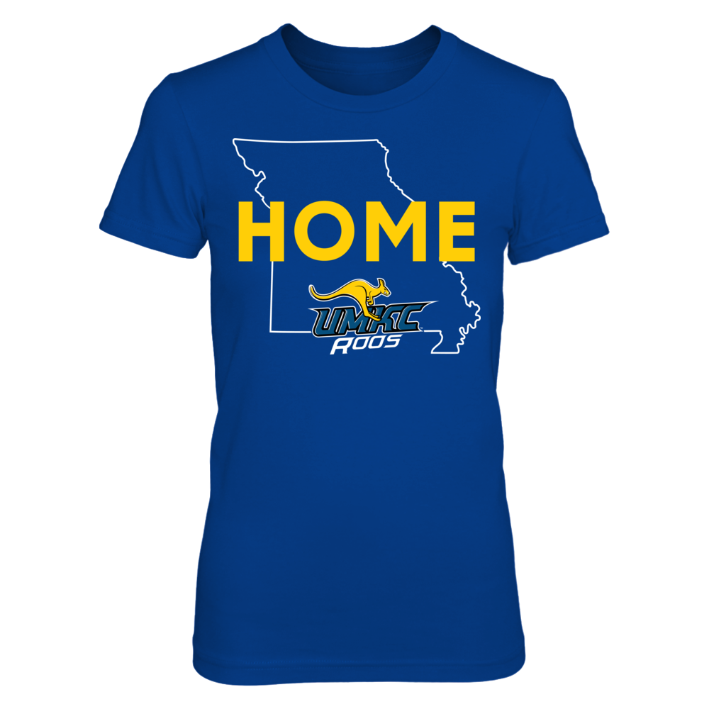 Home With State Outline - UMKC Kangaroos Front picture