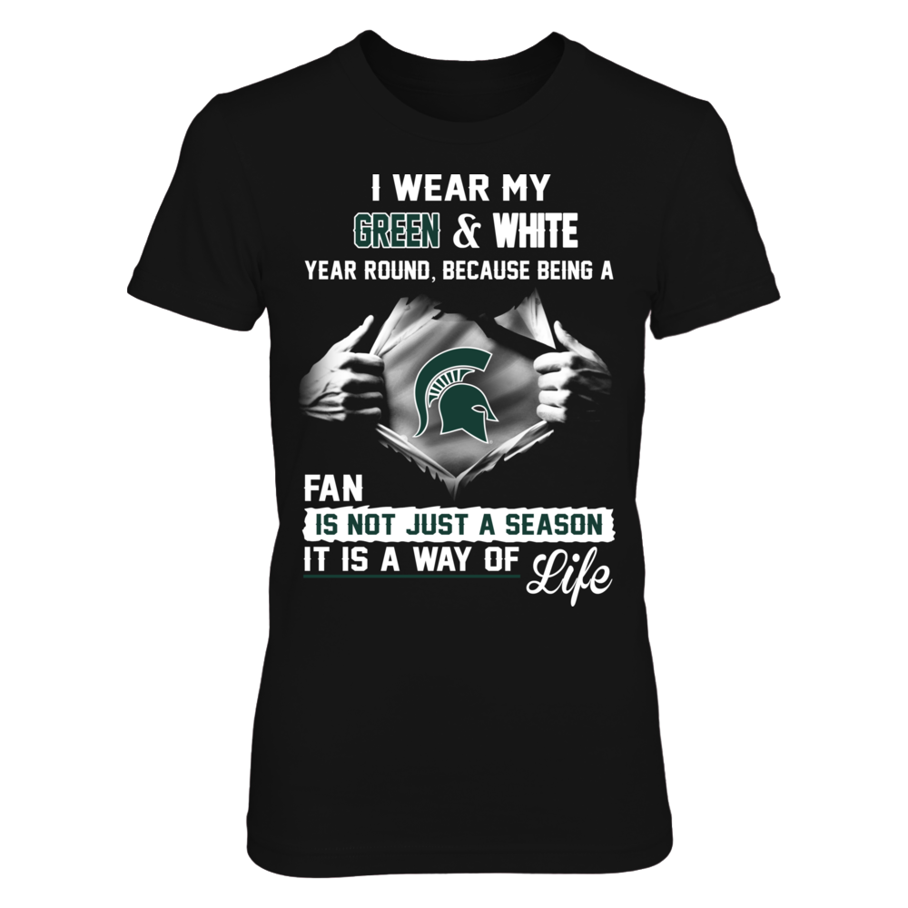 Michigan State Spartans Is A Way Of Life Front picture