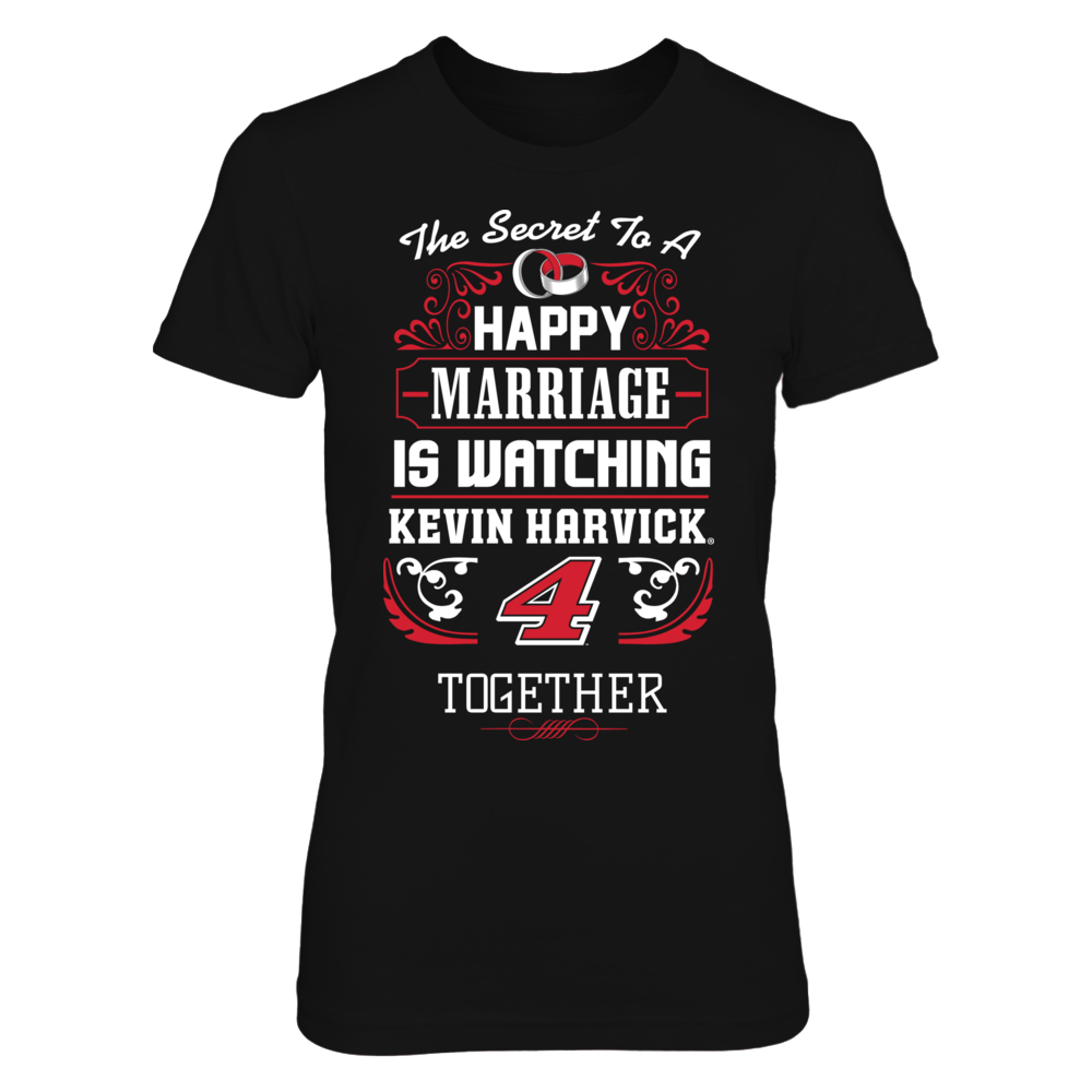 The Secret To A Happy Marriage - Kevin Harvick Front picture