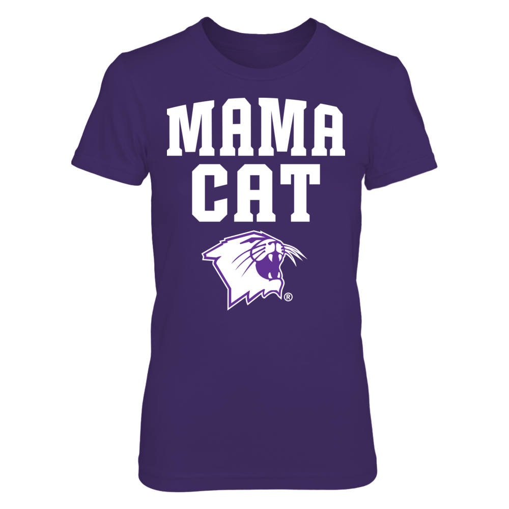 Mama Cat - Northwestern Wildcats Front picture