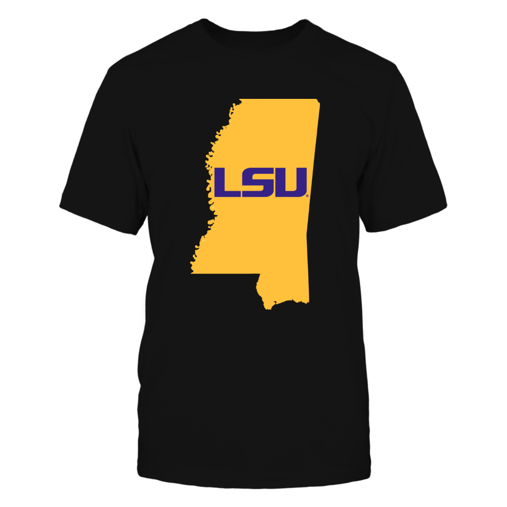 LSU Tigers - Mississippi For LSU T-Shirts, Tanks and Hoodies! Front picture