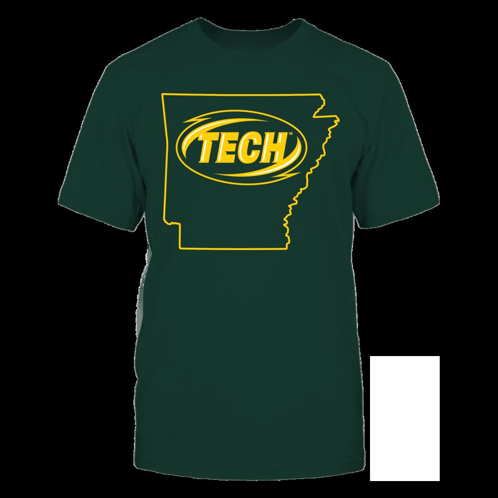 Logo State - Arkansas Tech Golden Suns Front picture