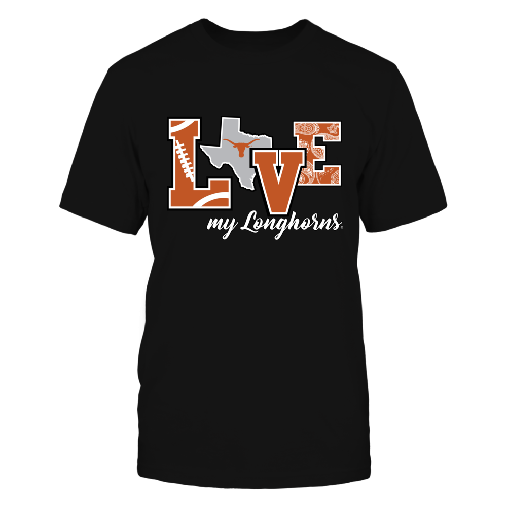 Texas Longhorns - Love My Longhorns - IF-IC13-DS83 Front picture