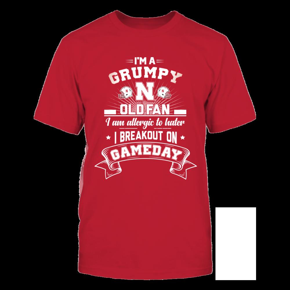 Nebraska Cornhuskers - Grumpy Old Fan Front picture