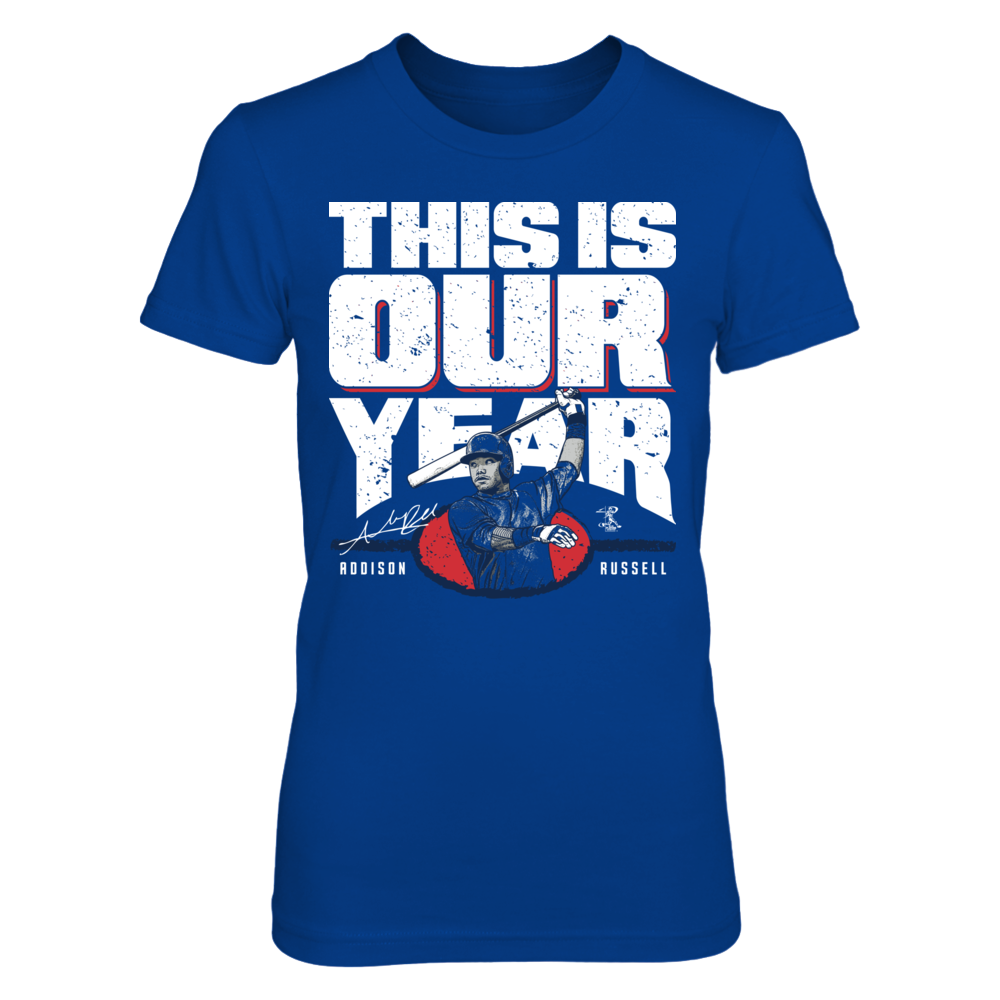 Addison Russell - This Is Our Year Front picture