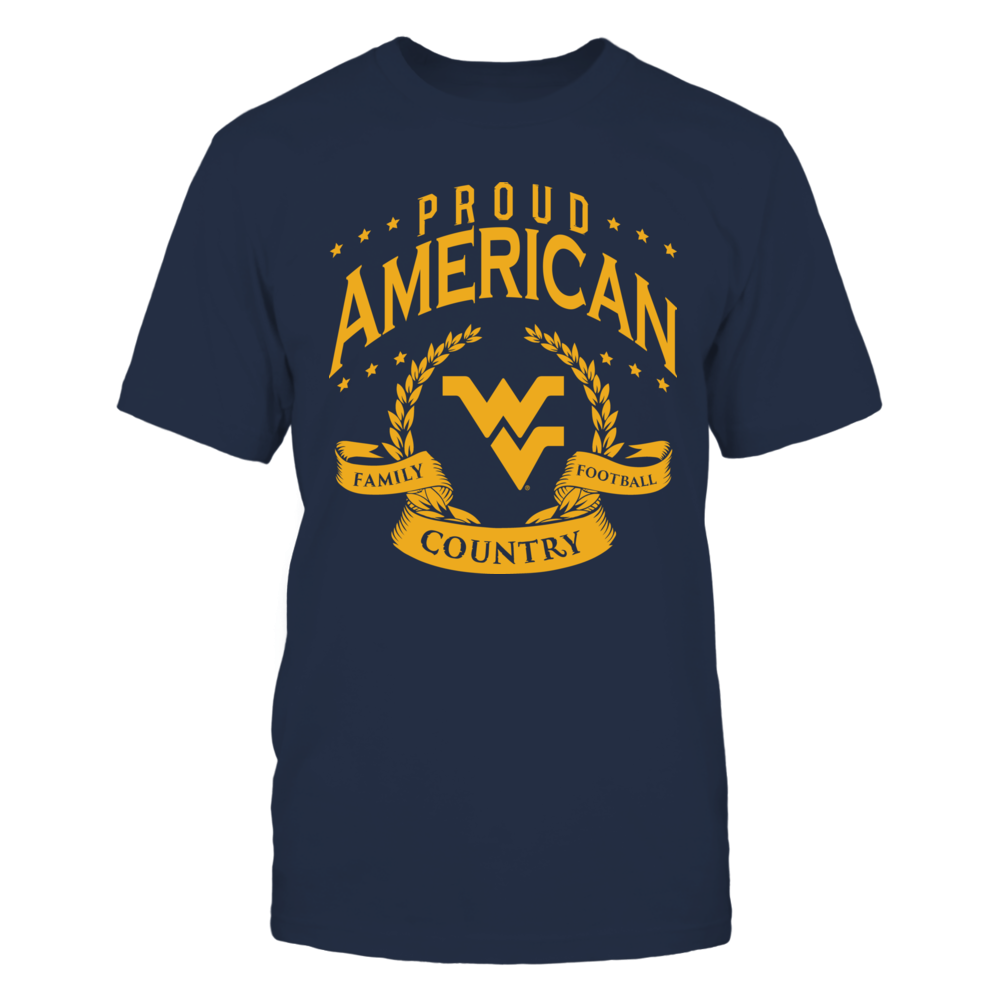 Proud American West Virginia Front picture