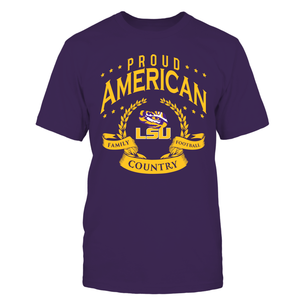 Proud American LSU Front picture