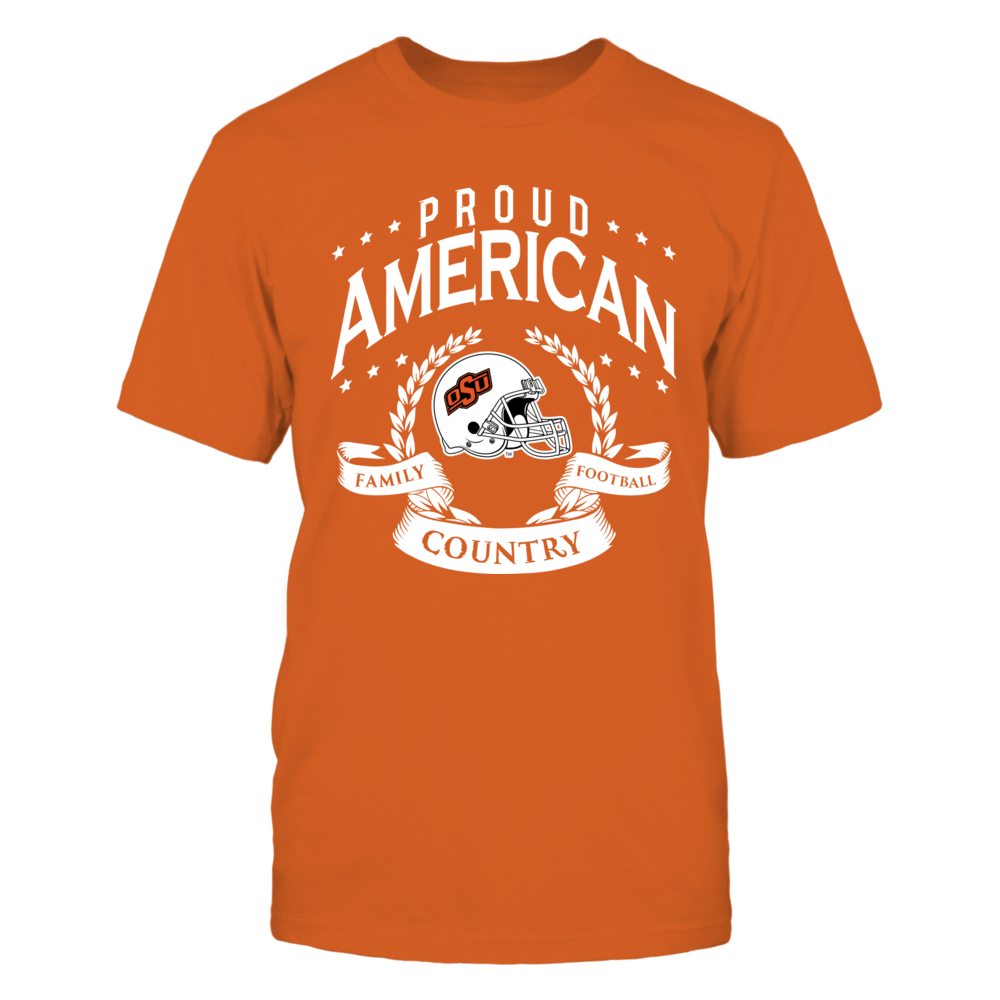 Proud American Oklahoma State Front picture