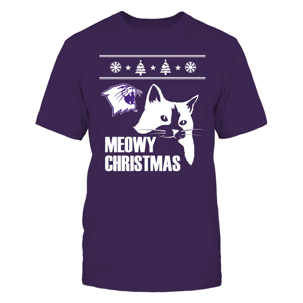 Meowy Christmas Northwestern Front picture