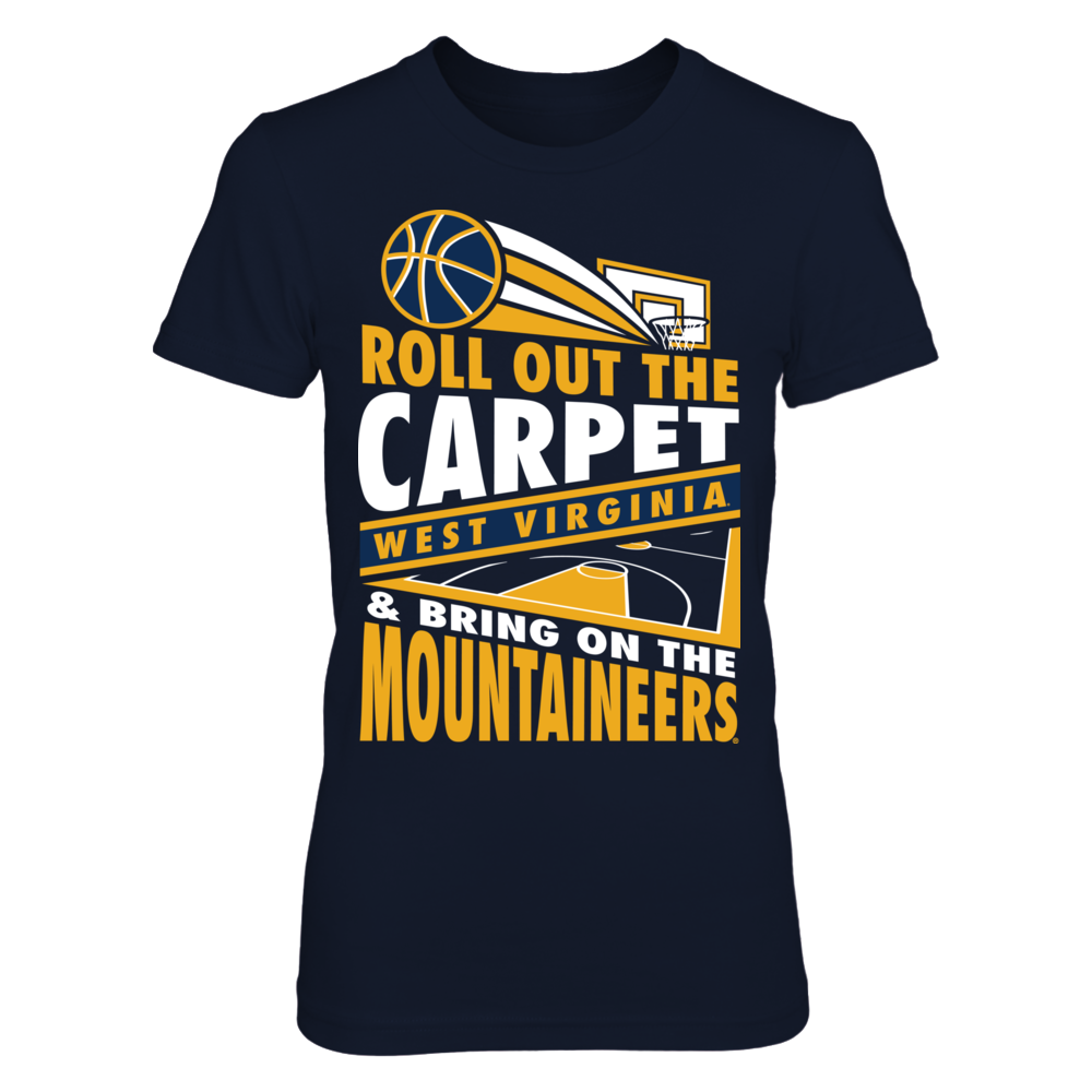 West Virginia Mountaineers - Roll Out The Carpet V4 Front picture