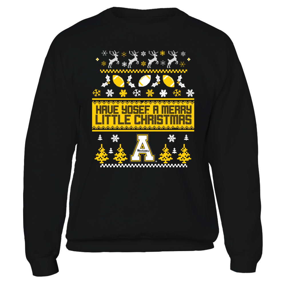 UGLY CHRISTMAS SWEATER DESIGN - APPALACHIAN STATE MOUNTAINEERS Front picture