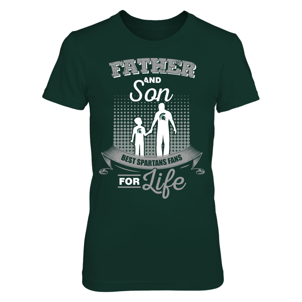 Michigan State Spartans - Father and Son Front picture