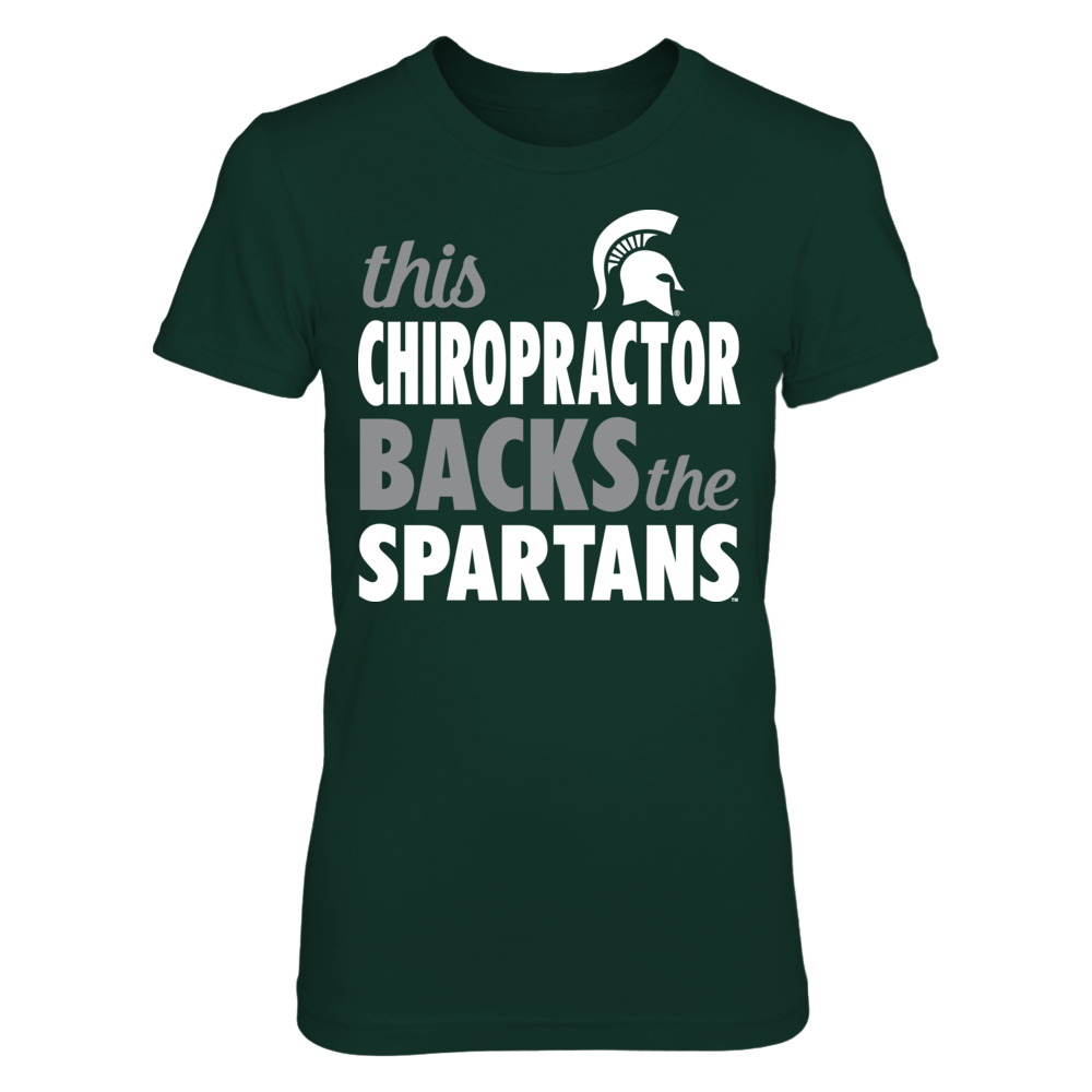 Michigan State - Chiropractor Front picture
