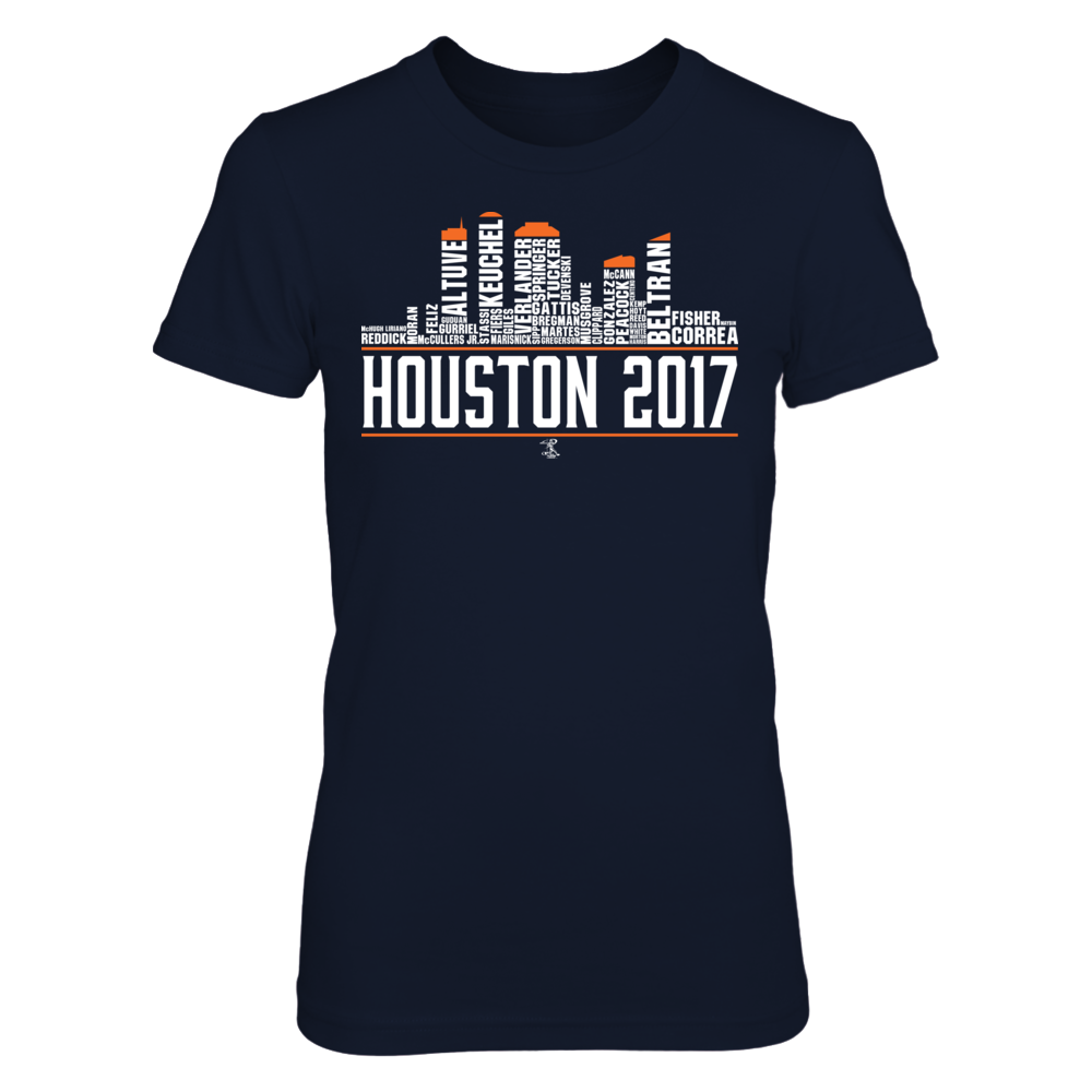 Houston Skyline 2017 Front picture