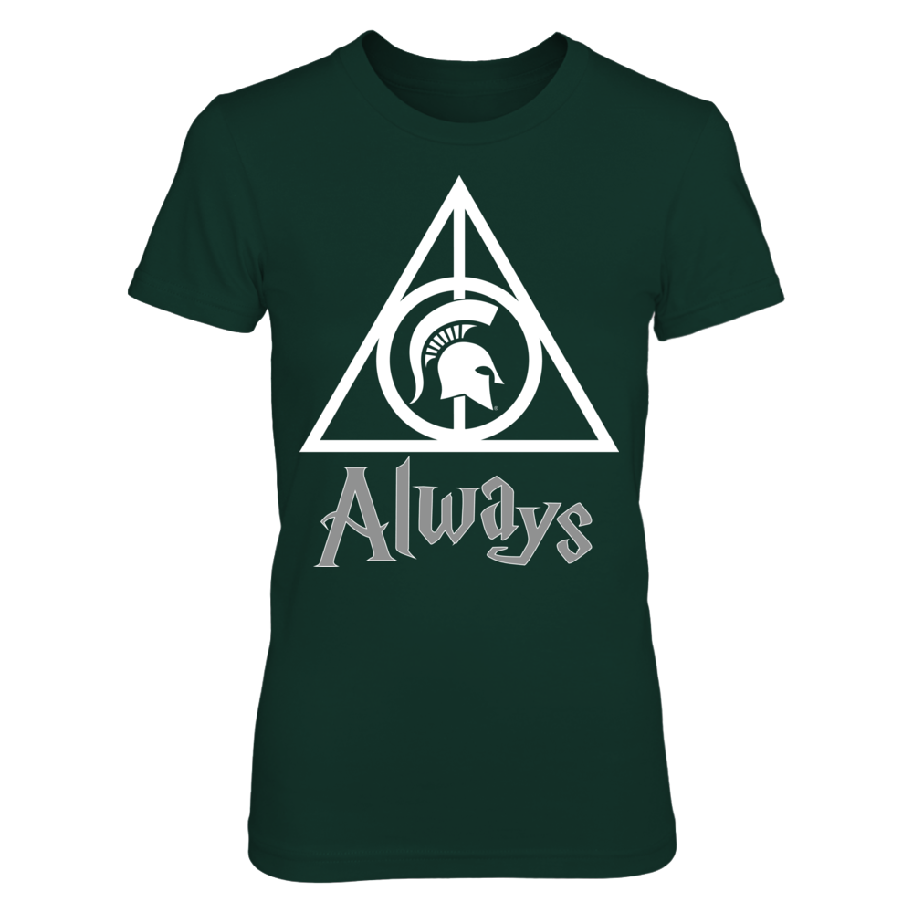 Michigan State Spartans - Deathly Hallows Front picture