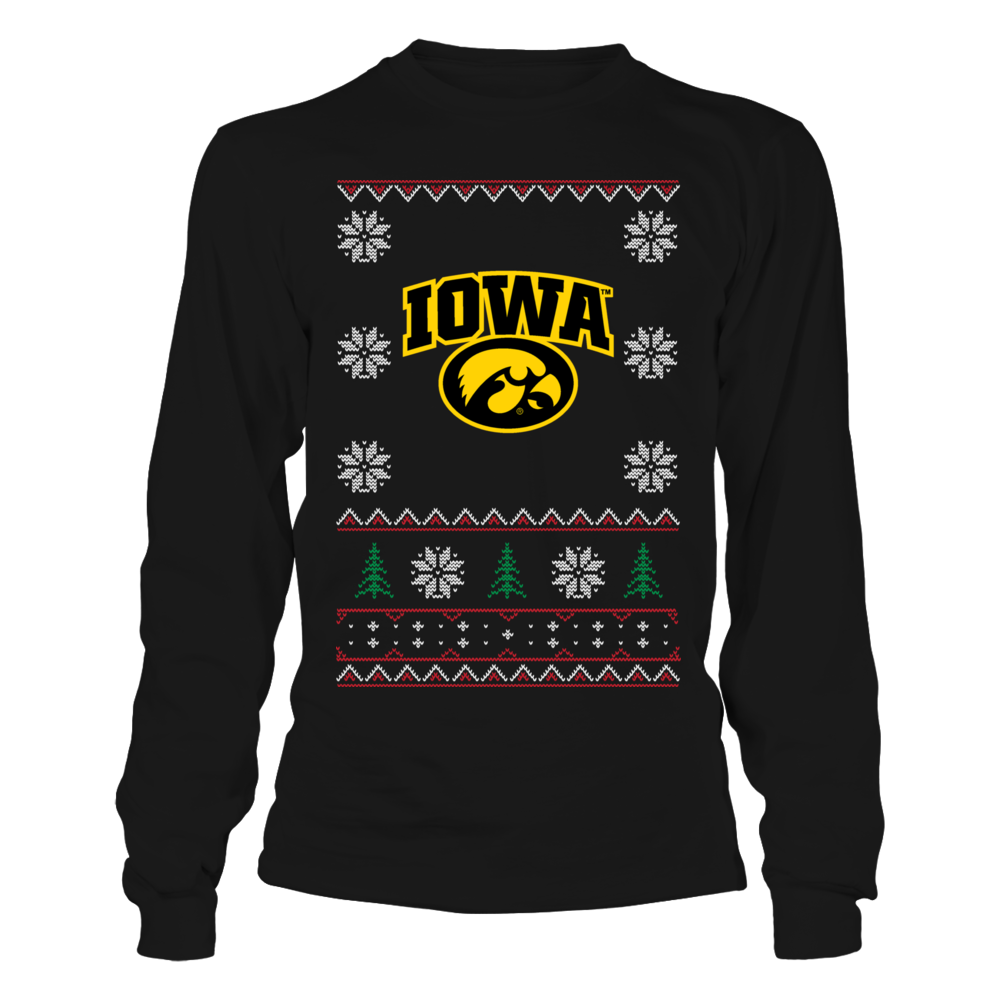 Iowa Hawkeye Christmas Front picture