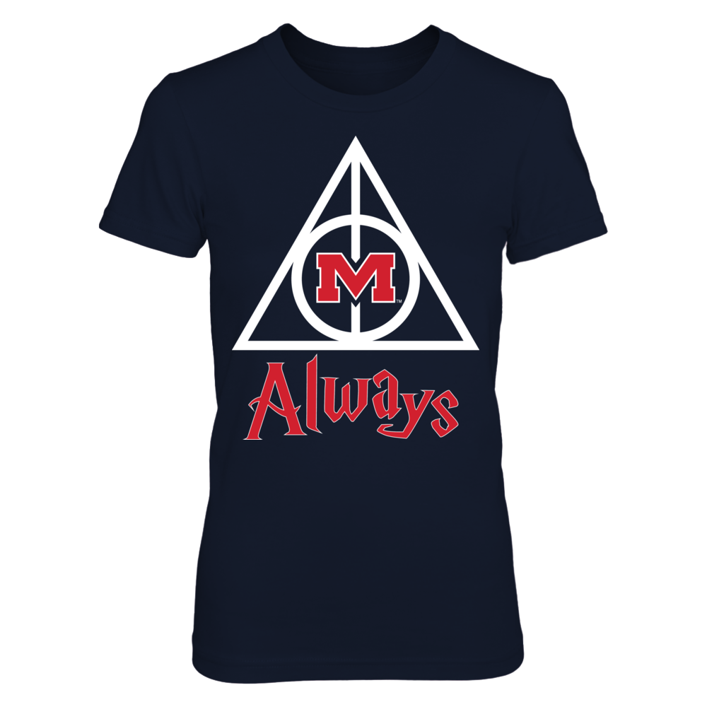 Ole Miss Rebels - Deathly Hallows Front picture